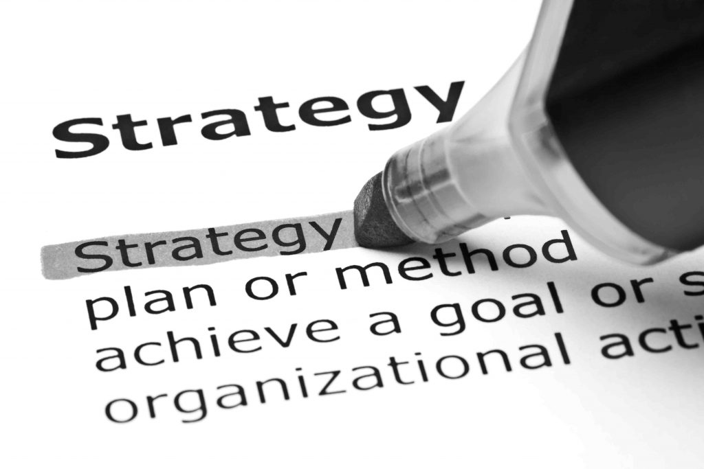 """A dictionary definition of the term """"digital strategy"""""""